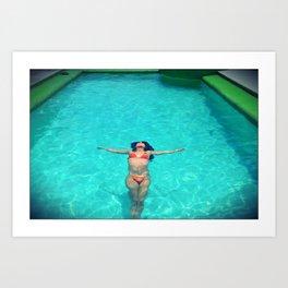 Asian Pool Art Print
