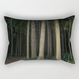 The Slender Man Rectangular Pillow