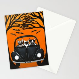A Spooky Halloween Drive Stationery Cards