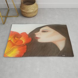 My life is like a Rose Rug