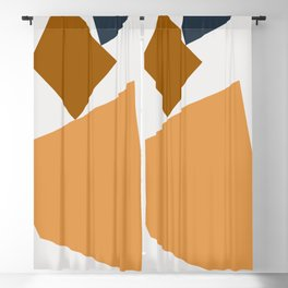 Abstract Geometric 24 Blackout Curtain
