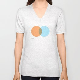 Venn Diagrams Unisex V-Neck