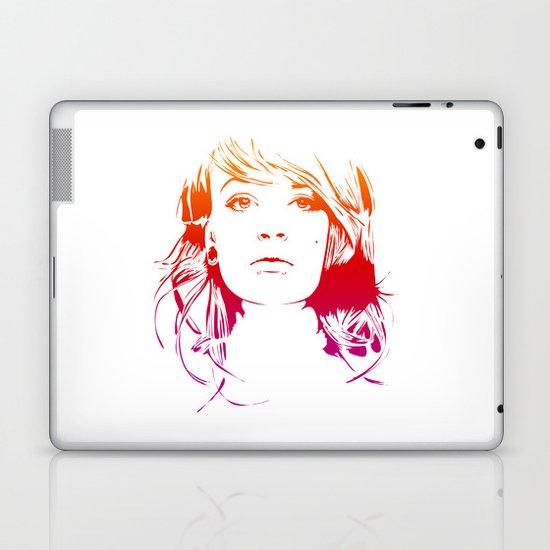 TattooGirl Laptop & iPad Skin