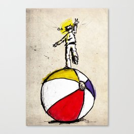 off balance Canvas Print