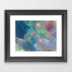 Out There Framed Art Print