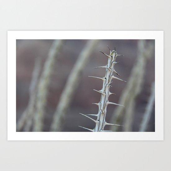 Growing Needles Art Print