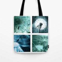 Dandelion art Tote Bag