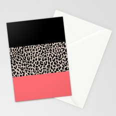 Leopard National Flag XV Stationery Cards