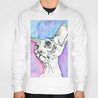 psych Hoodies featuring Psych Sphinx by Szilvia Lucas