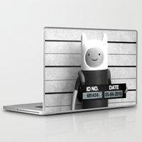 finn Laptop & iPad Skins featuring Finn Lineup by Christophe Chiozzi