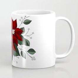 Nochebuena Poinsettia Coffee Mug
