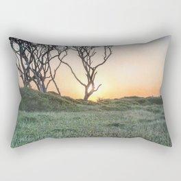 Barrier Island Sunrise II Rectangular Pillow