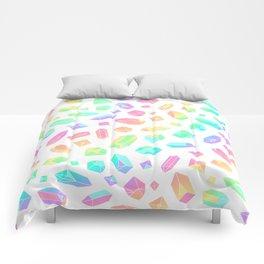 Rainbow Crystal Pattern Comforters