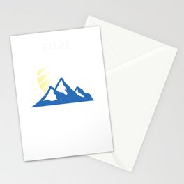 Mount Fuji Adventure Awaits Mountain Climbing Stationery Cards