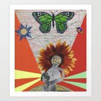 Dada Luz Art Print