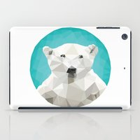 bears iPad Cases featuring ♥ SAVE THE POLAR BEARS ♥ by ℳixed ℱeelings