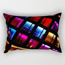 A Riot Of Color Rectangular Pillow