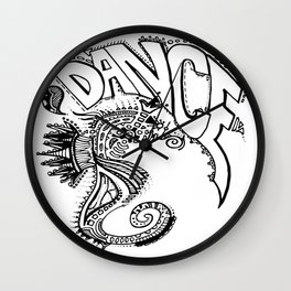 """Ocean Dancer""  Wall Clock"