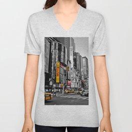 Times Square - Hyper Drop Unisex V-Neck