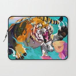 Hunting tiger Laptop Sleeve