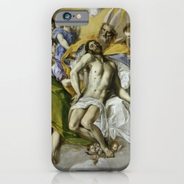 "El Greco (Domenikos Theotokopoulos) ""The Holy Trinity"" iPhone Case"
