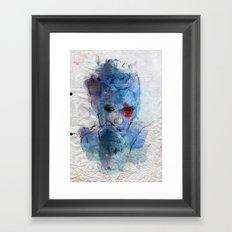 blue lover Framed Art Print