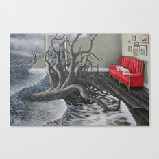 always say goodnight Canvas Print