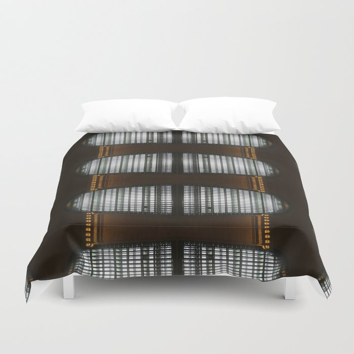 Grand Central Window (pattern) Duvet Cover