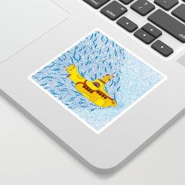 My Yellow Submarine Sticker