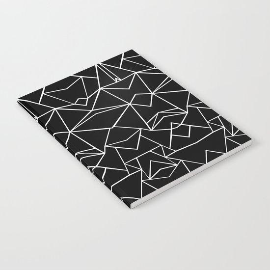 Ab Mirror Black Notebook