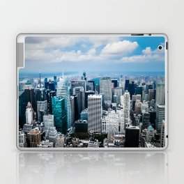 From New York to the Sky at the Manhattan Big Apple Dream Laptop & iPad Skin