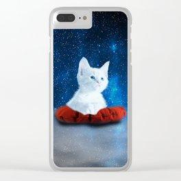 miau miau Clear iPhone Case