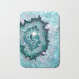 Teal Agate Bath Mat
