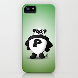 Panda Power iPhone Case