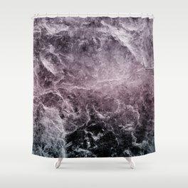 Enigmatic Dark Night Marble #1 #decor #art #society6 Shower Curtain