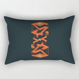 Monument Maze Rectangular Pillow