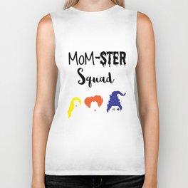 MOM-sters Unite!! Funny Hocus Pocus halloween shirt for moms Biker Tank