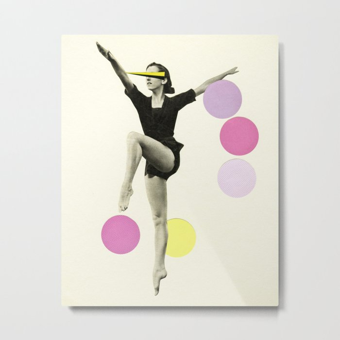 The Rules of Dance II Metal Print