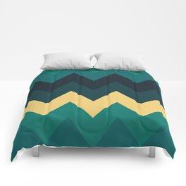 Chevron 0451 Comforters