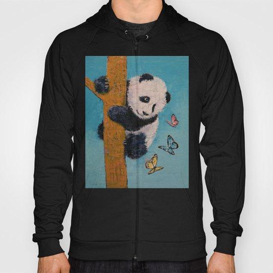 Panda Butterflies Hoody