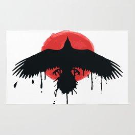 Chloe Price Black Red Rug