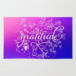 Gratitude Purply Pink Rug