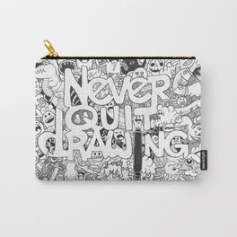 Doddle | Never Quit Drawing Carry-All Pouch