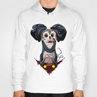creepy Hoodies featuring Creepy Mickey by tshirtsz
