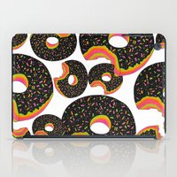 donut iPad Cases featuring Donut by Luna Portnoi