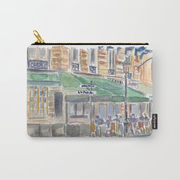 Paris Street Scene Romantic Cafe Afternoon Carry-All Pouch