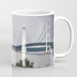 Sailing Mackinaw Coffee Mug