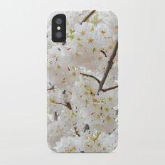 Sakura blossom iPhone X Slim Case