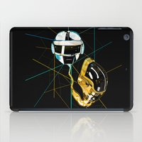daft punk iPad Cases featuring Daft Punk by Naje Anthony Hart