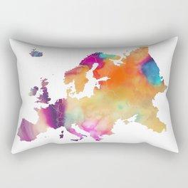 Europe map 2 Rectangular Pillow